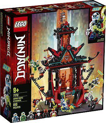 Lego Ninjago 71712 Empire Temple of Madness w/ 6 minifigs NEW