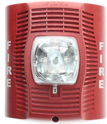 System Sensor Spectralert Advance Spsr Wall Ceiling Speaker Alert Strobe Red