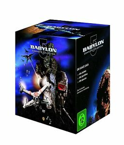 37 DVD-Box ° Spacecenter Babylon 5 ° Komplettbox ° Complete Collection ° NEU&OVP