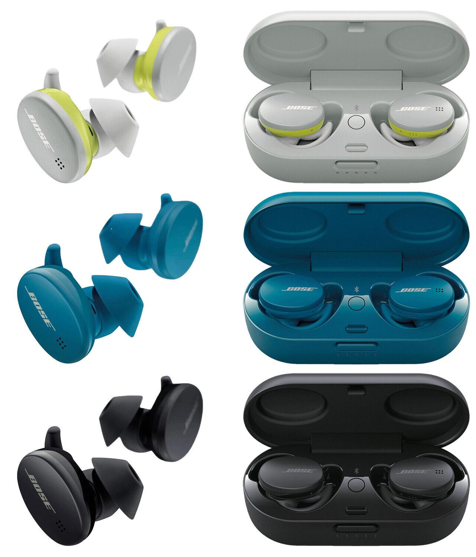 Bose True Wireless Bluetooth Sport Earbuds Headphones - White | Blue | Black