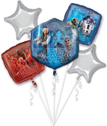 Disney+Star+Wars+The+Last+Jedi+5pc+Foil+Balloon+Bouquet