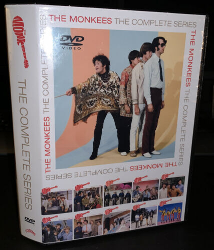 The Monkees Complete Collection 10 Disc DVD Set