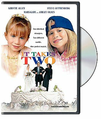 It Takes Two  Dvd Movie  Kirstie Alley Mary Kate   Ashley Olsen  Brand New