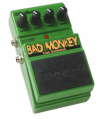NEW Digitech DBM Bad Monkey Tube Overdrive Effects Pedal Free USA Shipping