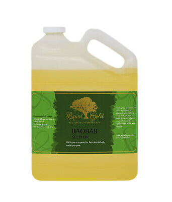 Gallon Premium Baobab Carrier Oil Pure&Organic Best Quality Skin Care Nails (Best Carrier Oil For Skin Care)