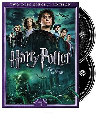 Harry Potter & The Goblet of Fire DVD 2 Disc Special Edition NEW