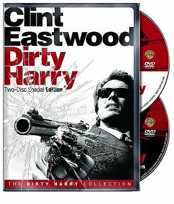 Dirty Harry (DVD, 2008, 2-Discs, Special Edition, Widescreen) *FREE Shipping*