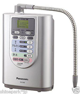 Panasonic Alkaline Water Purifier Ionizer TK7208P-S from Japan NEW!!