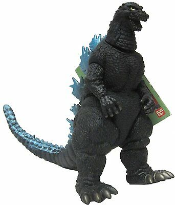 "GODZILLA,MINT,MADE IN 1998 by BANDAI.G-01 TAG,GODZILLA ISLAND,11"" LONG 6"" TALL"