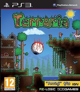 Terraria PS3 NEW And Sealed UK Original Release NOT Budget or Import