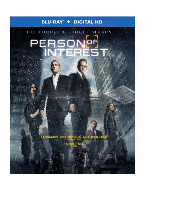 PERSON OF INTEREST - COMPLETE SEASON 4  -  Blu Ray - Sealed Region free