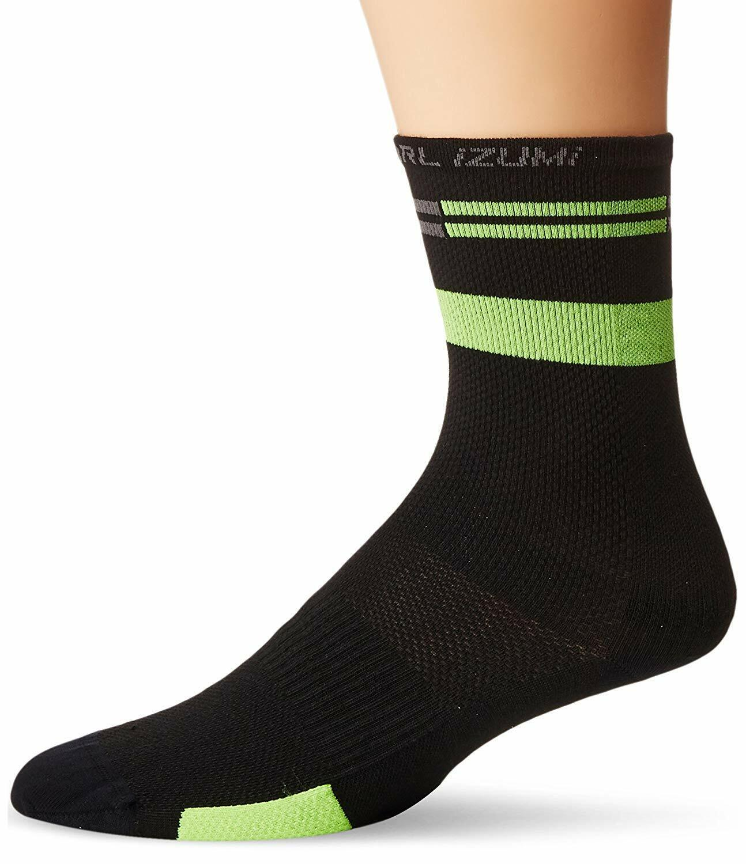 Pearl Izumi Elite Running Cycling Socks Pl Core White Med 3 Pair NEW!
