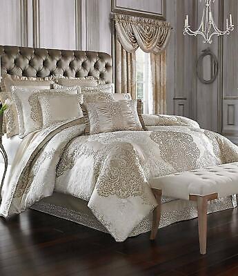 J. Queen New York La Scala Queen Comforter in Gold - COMFORTER ONLY