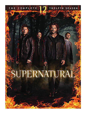 Supernatural: The Complete Twelfth Season 12 (DVD, 2017, 6-Disc Set)