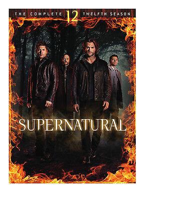 Supernatural: The Complete Twelfth Season 12 (DVD, 2017, 6-Disc Set)