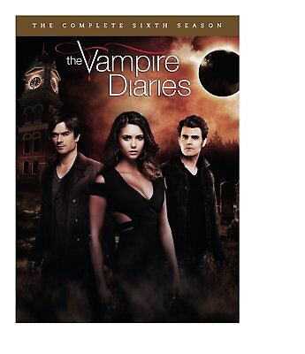 Vampire Diaries   Complete 6Th Sixth Season 6 Six   Brand New 5 Disc Dvd Set
