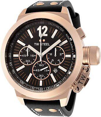 NEW TW Steel CEO Canteen Men's Chronograph Quartz Watch - CE1024
