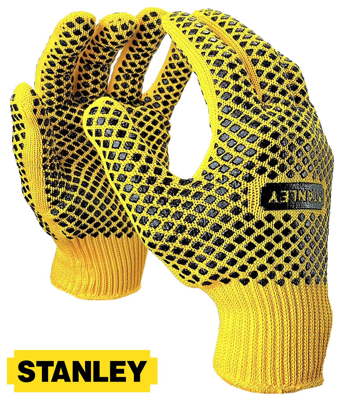 Stanley Arbeitshandschuhe Gripper Montagehandschuhe Diamond Grip Handschuhe Gr10