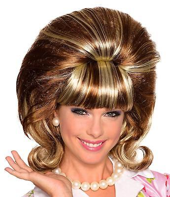 Miss Conception Wig Hairspray Fancy Dress Halloween Costume Accessory 2 COLORS