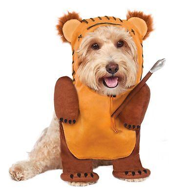 Rubie's Pet Shop Disney Star Wars Running Ewok Dog Costume Size Large  # 580415