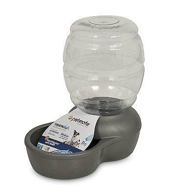 New 1 gallon Waterer Automatic Dispenser Dog Cat Pet Drink Water Bowl Home Clean