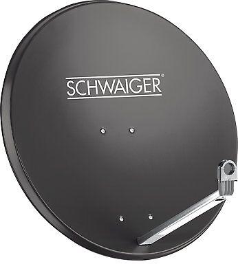 SCHWAIGER Satelliten Schüssel 80cm - Sat Spiegel Antenne digital hdtv hd 4k