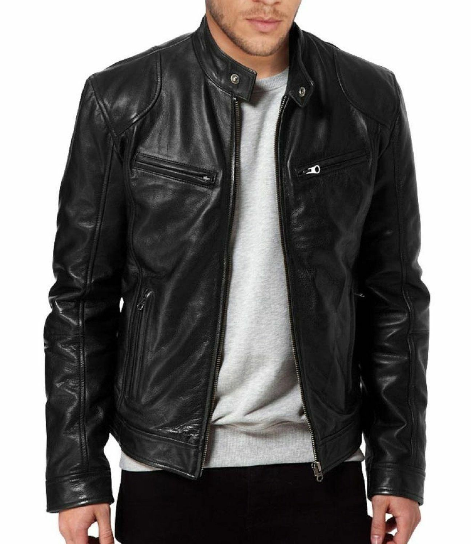 красивые кожаные куртки мужские фото потеряет