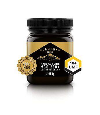 Manuka Honig MGO 280+ UMF 10+ 250g Original aus Neuseeland Egmont Honey