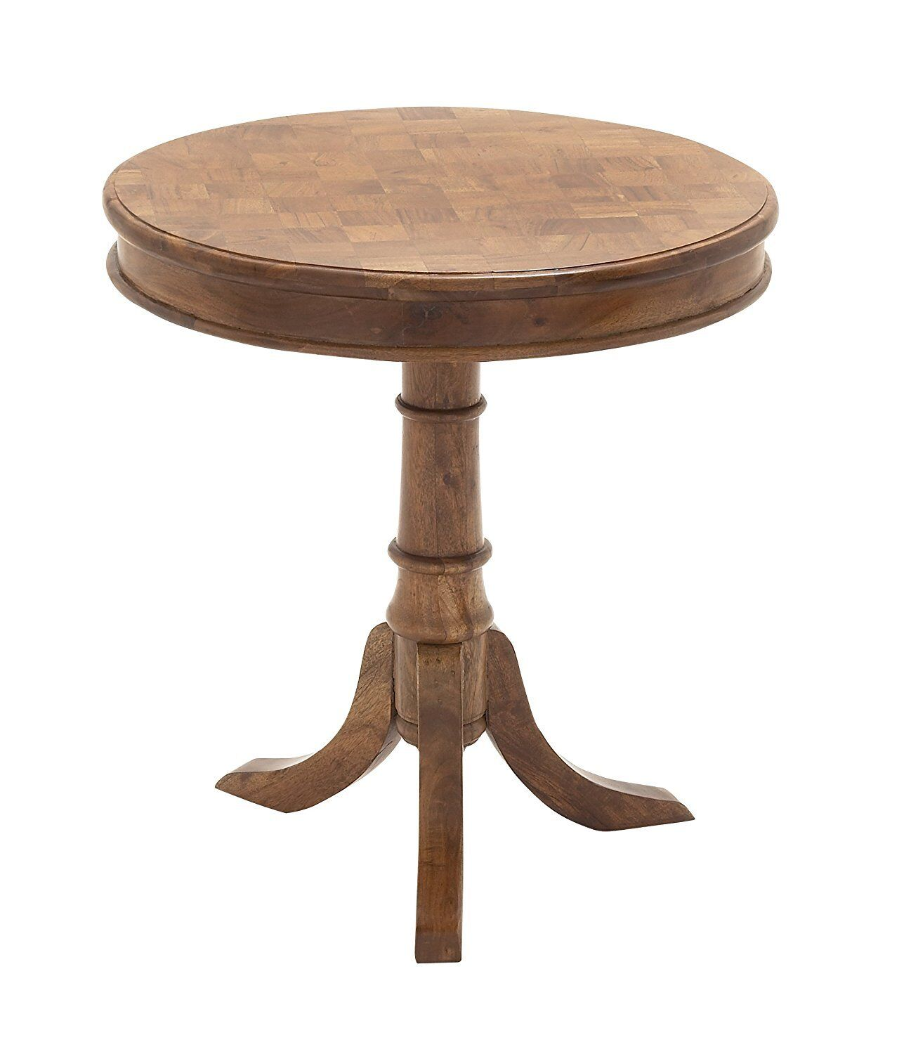 """NEW Deco 79 28721 Wood Accent Table, 24"""" x 26"""", Natural Colo"""