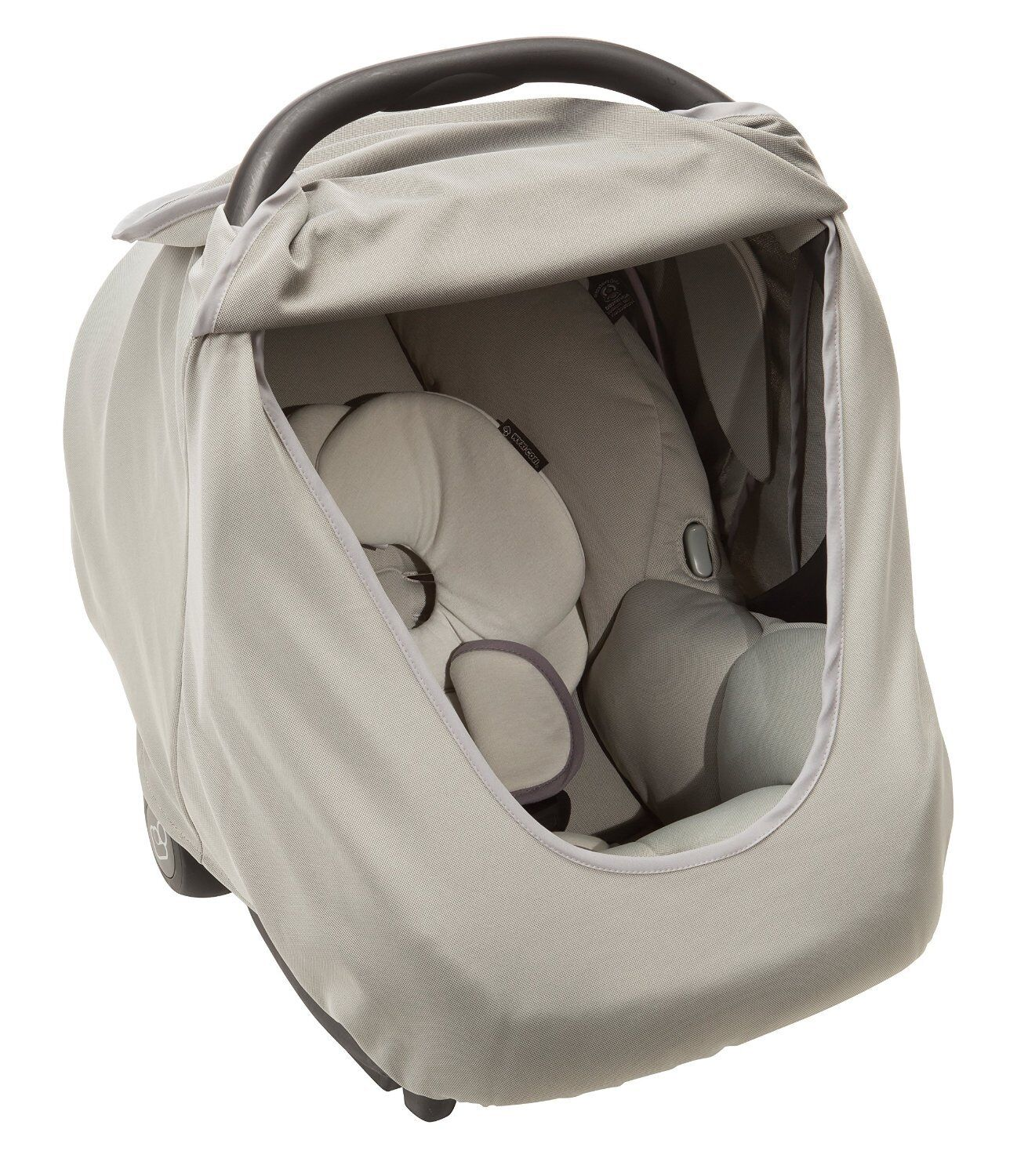 maxi cosi mico infant car seat cover grey brand new free shipping. Black Bedroom Furniture Sets. Home Design Ideas