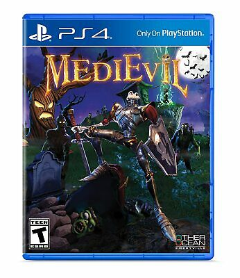 Medievil PS4 Brand New Factory Sealed PlayStation 4
