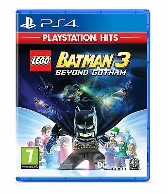 Lego Batman 3 Beyond Gotham PS4 Game (PlayStation Hits)