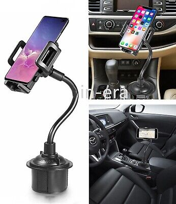 XL Adjustable Universal 360° Cup Holder Car Mount Stand For GPS Mobile Phone PDA