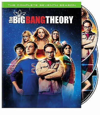 The Big Bang Theory   Complete Seventh Season 7 Seven   Brand New 3 Disc Dvd Set