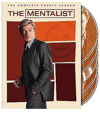 The Mentalist: Complete Fourth Season 4 (DVD, 5-Disc set) - Brand New!!