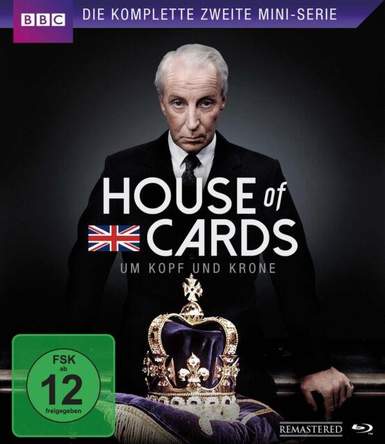 Blu-ray * HOUSE OF CARDS - DIE KOMPLETTE ZWEITE MINI-SERIE # NEU OVP \