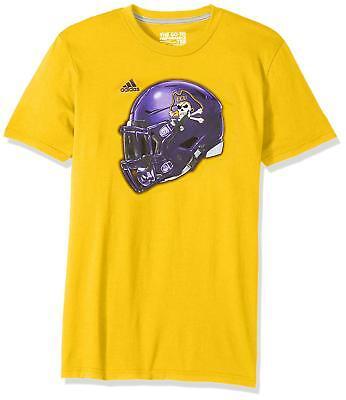 East Carolina Pirates NCAA Men's adidas Climalite Helmet T-Shirt, Medium, NWT ()