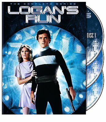 Logans Run  The Complete Series  Dvd Set  Warner Bros   Gregory Harrison  New