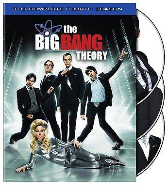 Big Bang Theory   Complete Fourth Season 4 Four   Brand New 3 Disc Us Dvd Set