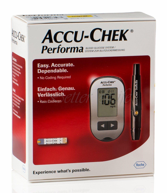 Accu-Chek Performa Blood Glucose Meter Kit Monitoring system