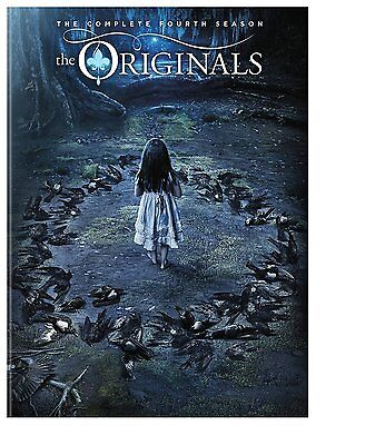 The Originals Season 4 Four (DVD, 2017,3-Disc Set) Free Fast Shipping! NEW!