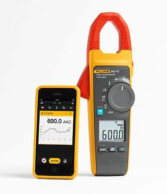 New Fluke 902 Fc True-rms Hvac Clamp Meter Ip30