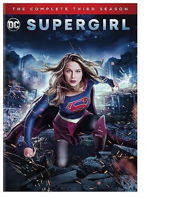 Supergirl: The Complete Third Season 3 (DVD, 2018, 5-Disc Set)