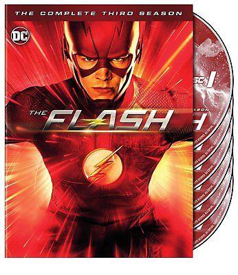 The Flash  Season 3  Dvd  2017  6 Disc Set
