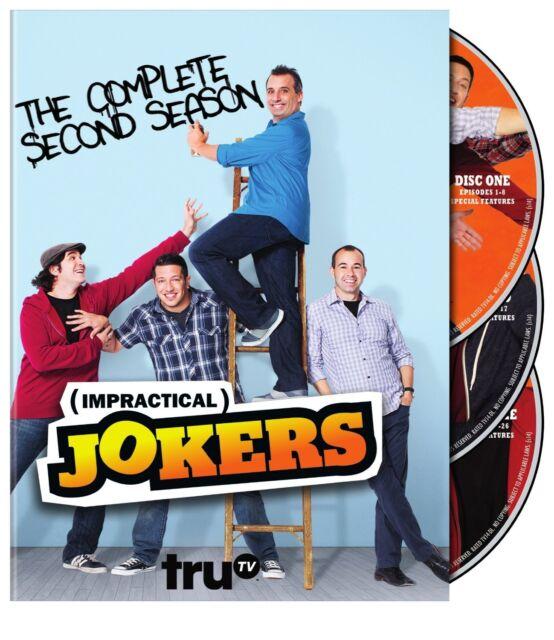IMPRACTICAL JOKERS - COMPLETE SEASON 2 -  DVD - REGION 1 - Sealed