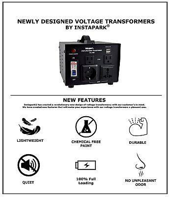 1000watt-3000watt Voltage Converter Transformer Step Updown Ac 110v 220v Itu