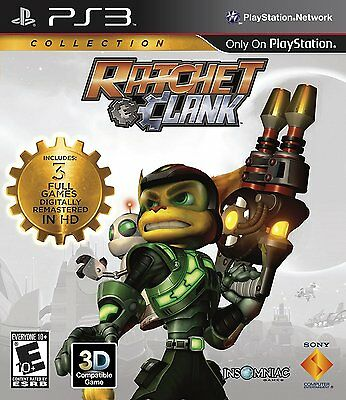Ratchet and Clank Collection [PlayStation 3, PS3, Insomniac, 3D Platformer] NEW