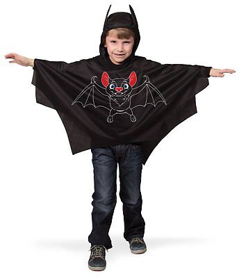 Fledermaus Umhang Gr. 98 104 110 116 Kinder - Fledermaus Kostüm Halloween