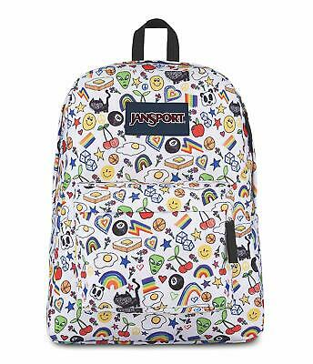 JanSport Superbreak Backpack Over The Rainbow](Rainbow Backpack)