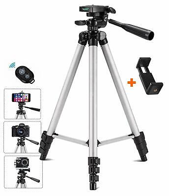 Tripod for iPhone/Camera/Smartphone/ Android Selfie Stick Bluetooth Remote -Gift